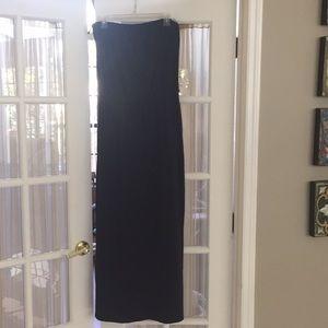 Theory strapless Maxi dress M